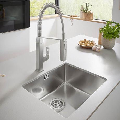 Кухонная мойка  AquaLine 490 x 480