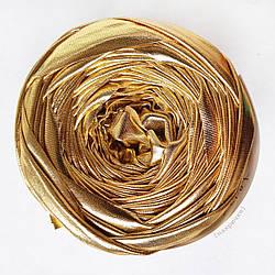 Трикотажная пряжа Belka, цвет Золото 7-9 мм (40-43 м)