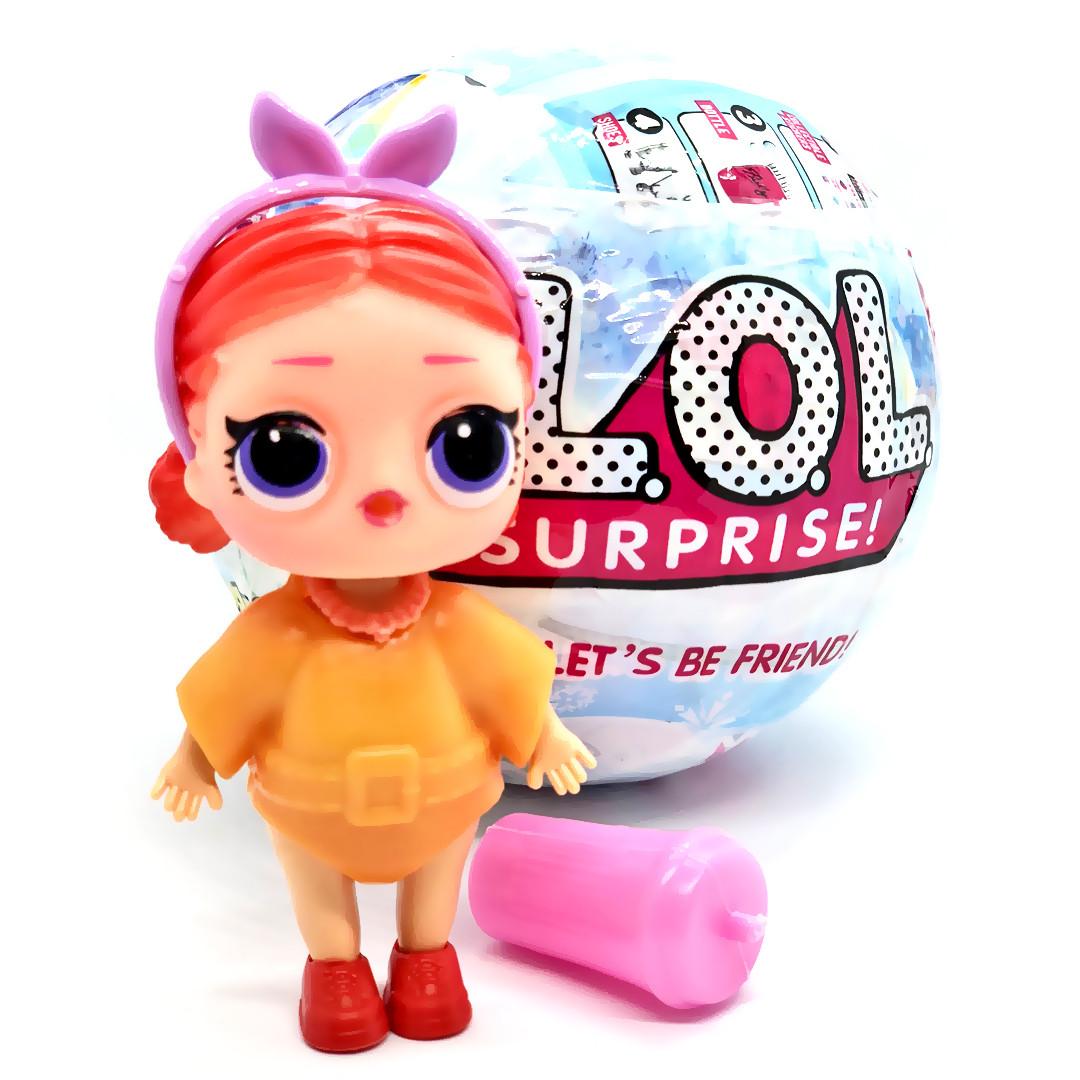 Кукла-сюрприз в шаре L.O.L Unicorn Лол Единорог в голубом шаре, серия 15 TOY025