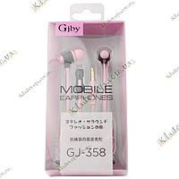 Гарнитура для смартфона Gjby GJ-358, фото 1