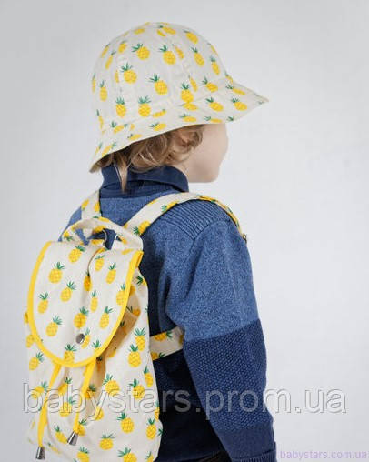 набор рюкзак и панама на малыше фото 13