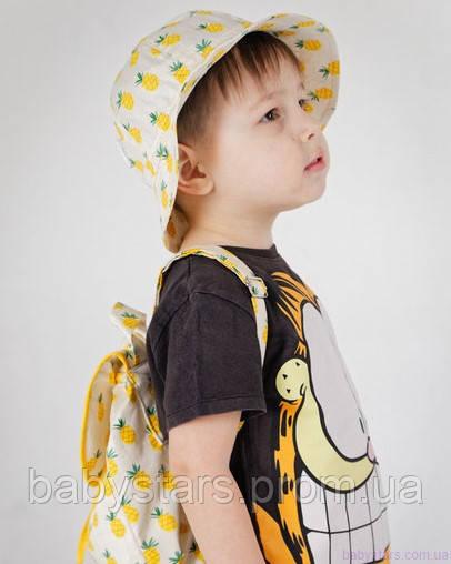 набор рюкзак и панама на малыше фото 14