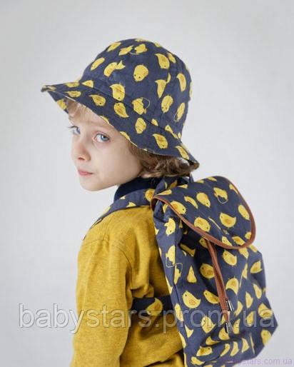 набор рюкзак и панама на малыше фото 16