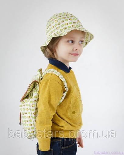 набор рюкзак и панама на малыше фото 19
