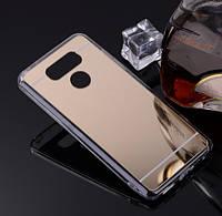 Зеркальный силиконовый чехол для LG G5