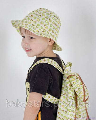 набор рюкзак и панама на малыше фото 21