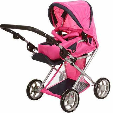 Детская коляска для кукол 2 в 1 с люлькой для куклы  9346-В, фото 2