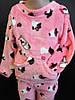 Детские махровые пижамы для девочек.