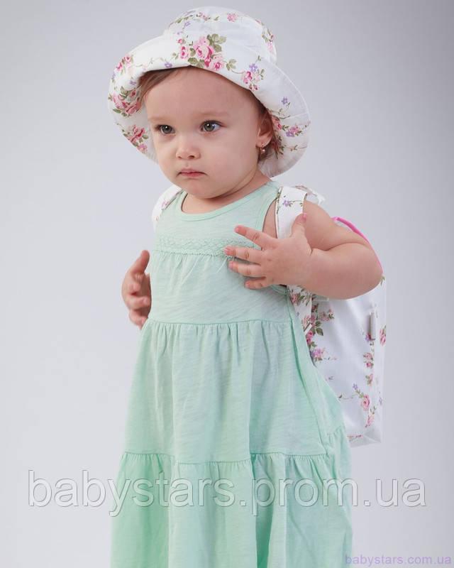 набор рюкзак и панама на малыше фото 1
