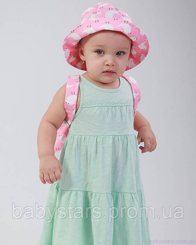 набор рюкзак и панама на малыше фото 3