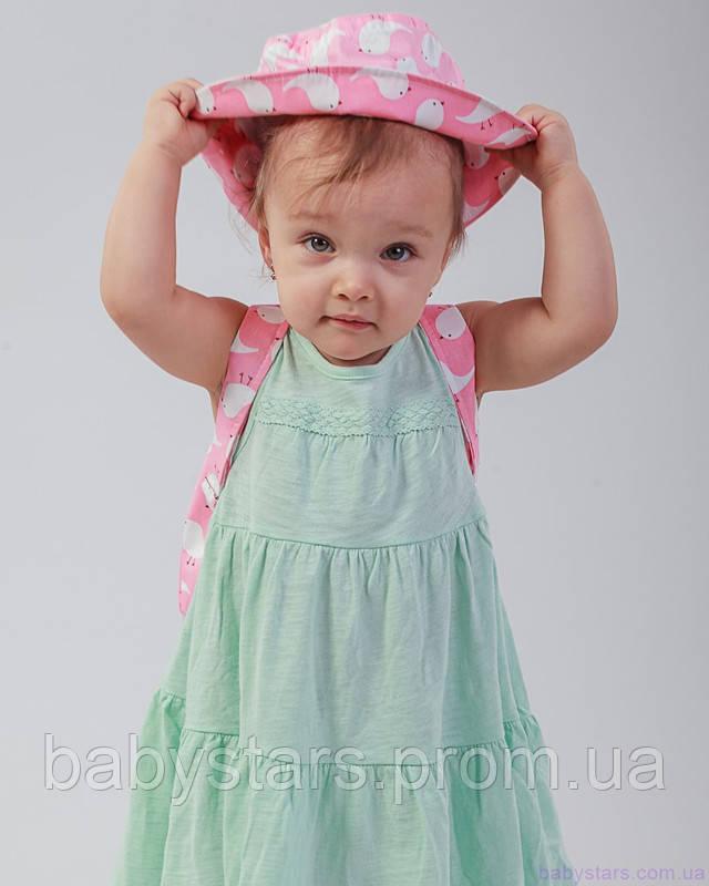 набор рюкзак и панама на малыше фото 4