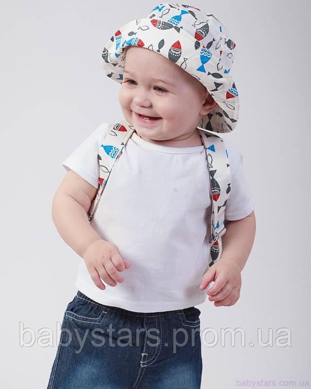 набор рюкзак и панама на малыше фото 6