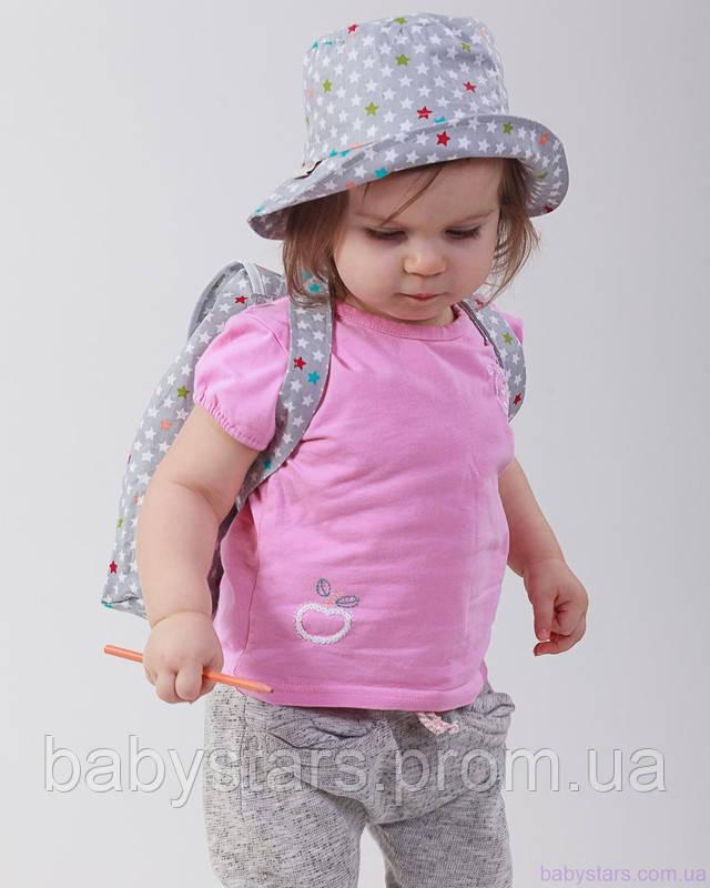 набор рюкзак и панама на малыше фото 7