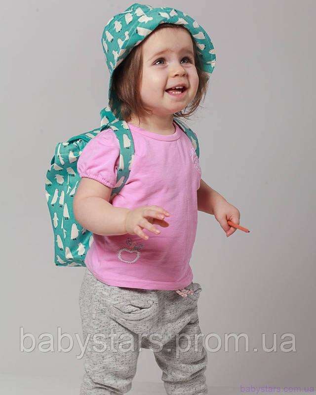набор рюкзак и панама на малыше фото 9