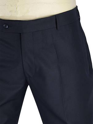 Чорні чоловічі класичні брюки Monzeratti C-401 C:01 black classic, фото 2