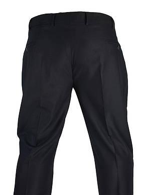 Чорні чоловічі класичні брюки Monzeratti C-401 C:01 black classic, фото 3