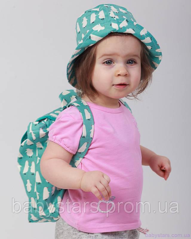 набор рюкзак и панама на малыше фото 10