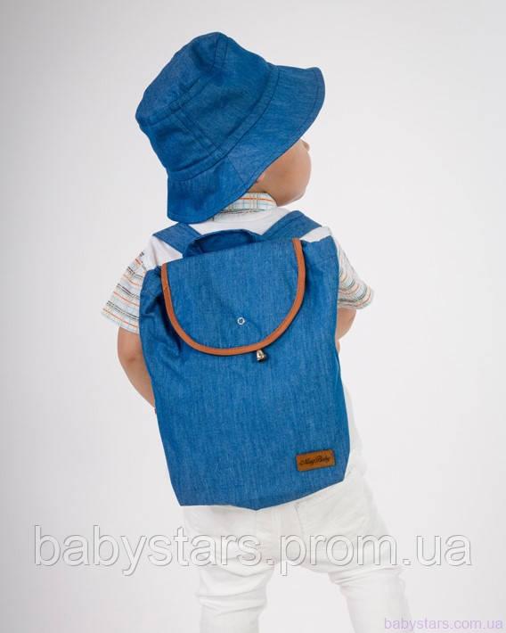 набор рюкзак и панама на малыше фото 11