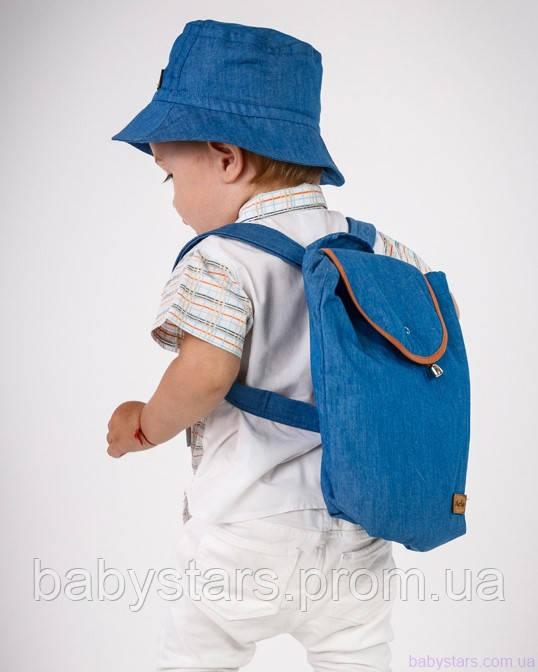 набор рюкзак и панама на малыше фото 12