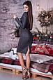 Платье-футляр миди люрекс , фото 3