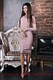 Платье-футляр миди люрекс , фото 5
