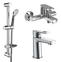 Набор смесителей для ванны 3 в 1 VOLLE BENITA 1517112161 хром
