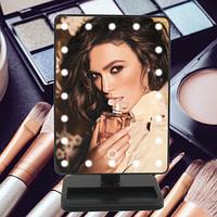 Зеркало для макияжа с 22 LED подсветкой Large Led Mirror, фото 1