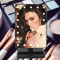 Зеркало для макияжа с 22 LED подсветкой Large Led Mirror