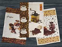 """Набор полотенец """"Кофе"""" из 3-х штук"""