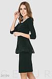Элегантное офисное платье черного цвета, фото 3
