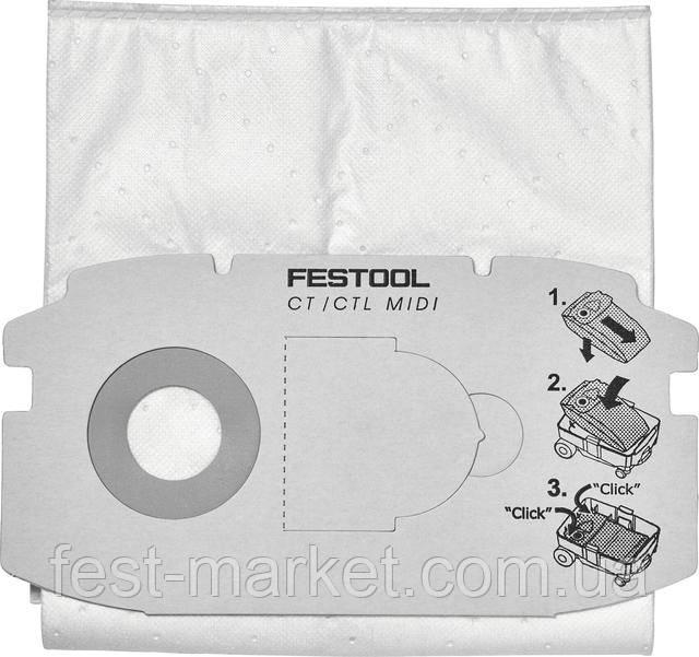 Мешок-пылесборник SELFCLEAN SC FIS-CT MINI/5 Festool 498410