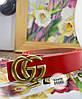 Женский брендовый ремень из кожи в расцветках. ВЕ-4-1118, фото 6