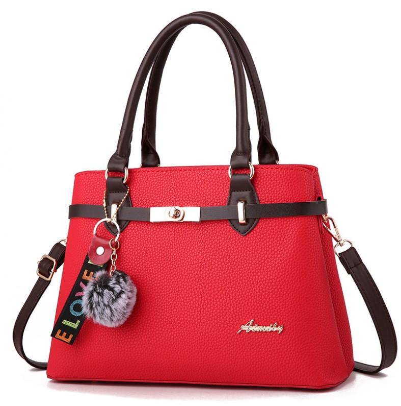 Сумка женская Alpina классическая Красный
