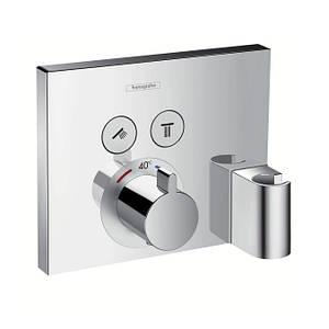 Внешняя часть термостата скрытого монтажа Hansgrohe Shower Select 15765000 хром