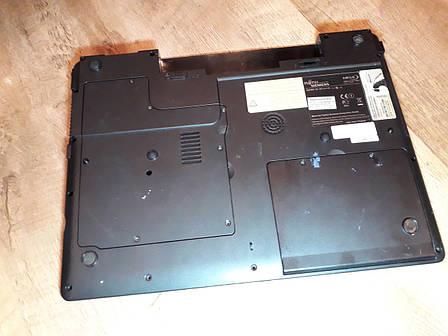 Нижняя часть корпуса (корыто) Fujitsu-Simens Amilo 1526   оригинал б.у, фото 2
