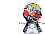 Набор для настольного тенниса Donic Playtech 2 Player Set Outdoor, фото 4