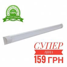 """Светодиодный LED светильник линейный накладной """"Plazma"""" 18Вт 6500К 1560Lm 590x60mm"""