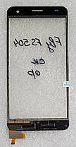 Сенсор (тачскрін) для Fly FS504 Cirrus2, Nomi i504 Dream чорний, фото 2