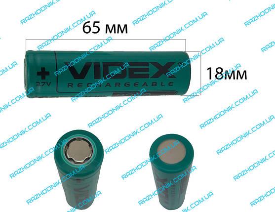 Аккумуляторный элемент (банка) для шуруповерта li-ion 2200 mAh (65*18), фото 2