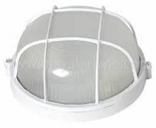 Светильник ЖКХ НПП 04 У-161 (метал/стекло) Антивандальный Белый (диаметр 250 мм)