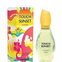 Туалетная вода женская Podium Touch Sunset (Escada Taj Sunset) EDT 60ml