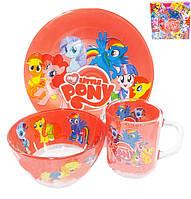 """Набор посуды для детей  """"My Little Pony"""""""