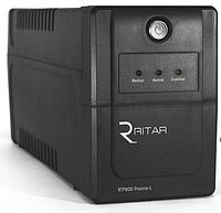 ИБП Ritar RTP600 (360W) Proxima-L, LED, AVR, 2st, 2xSCHUKO socket, 1x12V7Ah, plastik Case ( ) Q4