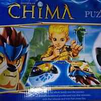 Конструктор 643 Chima +пазлы