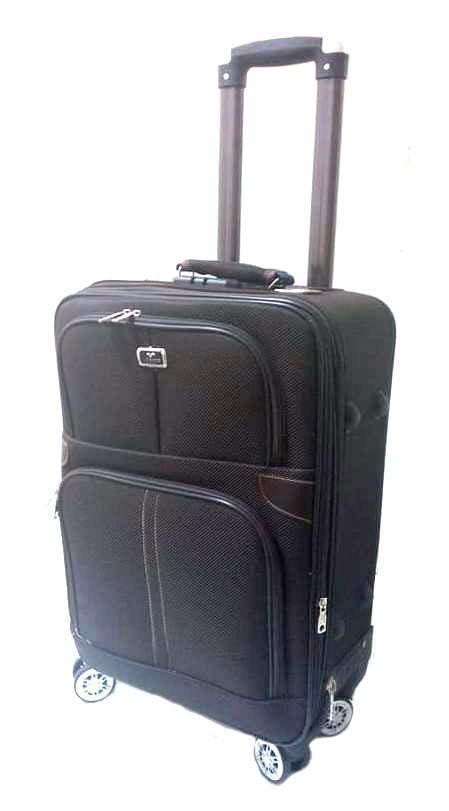 """Дорожный чемодан 20"""" Lin Sheng R16357 коричневый"""