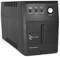 ИБП Ritar RTP625 (375W) Proxima-L, LED, AVR, 2st, 2xUNIVERSAL socket, 1x12V7Ah, plastik Case