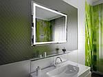 Дизайн ванної кімнати з LED-дзеркалами