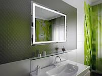 Дизайн ванной комнаты с LED-зеркалами