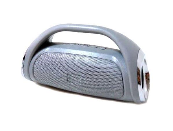 Портативная bluetooth колонка MP3 BOOM BASS MINI серая