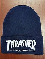 Зимняя шапка в стиле Thrasher | Топ качество!